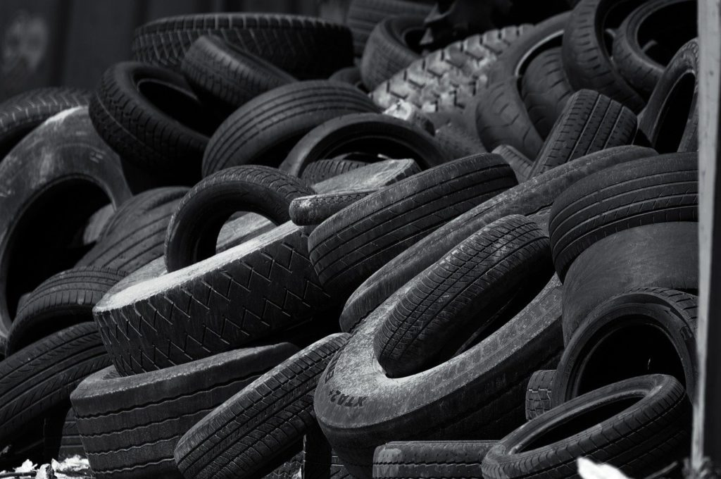 mature, auto tires, recycling